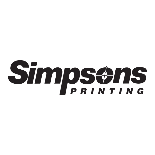 Simpsons Printing Logo